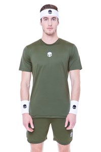 Футболка мужская Hydrogen Tech Military Green  T00251-164