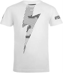 Футболка для мальчиков Hydrogen Thunderbolt White/Black  TK0000-077