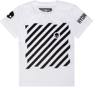 Футболка для мальчиков Hydrogen Optical White/Black  TK0006-077