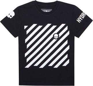 Футболка для мальчиков Hydrogen Optical Black/White  TK0006-118