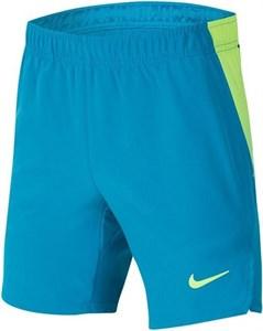 Шорты для мальчиков Nike Court Flex Ace Neo Turquoise/Volt  CI9409-425  fa20