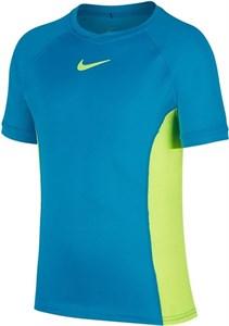 Футболка для мальчиков Nike Court Dry Neo Turquoise/Volt  CD6131-425  fa20