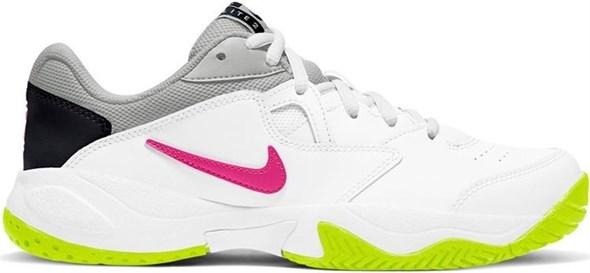 Кроссовки женские Nike Court Lite 2 White/Hot Lime/Fuchsia  AR8838-107