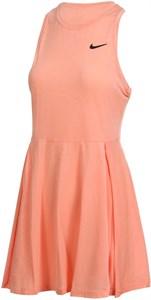 Платье женское Nike Court Advantage Crimson Bliss/Black  CV4692-693  sp21