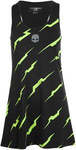 Платье женское Hydrogen Thunder Black/Yellow Fluo  T01402-D56