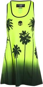 Платье женское Hydrogen Palm Tank Fluo Yellow/Black  T01406-724