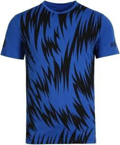 Футболка мужская Hydrogen Scratch Tech Blue/Black  T00414-014