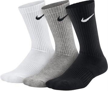 Носки Nike Youth Cotton Cushion Crew Moist (3 Pairs) White/Black/Grey SX4719-967