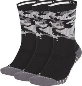 Носки Nike Everyday Max Cushion Crew (3 Pairs) Camo Black/Crey/White  SX7630-010