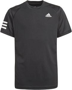 Футболка для мальчиков Adidas Club 3-Stripes Black/White  GK8179  sp21