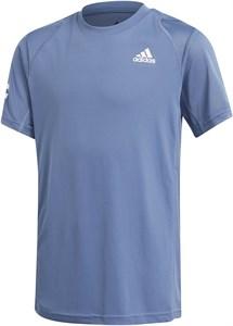Футболка для мальчиков Adidas Club 3-Stripes Crew Blue/White  GK8178  sp21