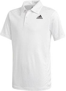 Поло для мальчиков Adidas Club White/Black  GK8176