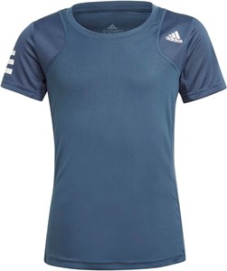 Футболка для девочек Adidas Club Crew Navy/White  GK8187  sp21
