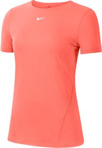 Футболка женская Nike Pro Bright Mango  AO9951-854  sp21