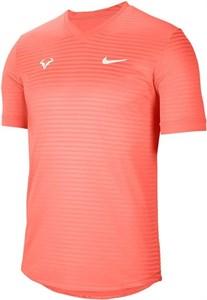Футболка мужская Nike Court Rafa Challenger Bright Mango  CI9148-854  sp21