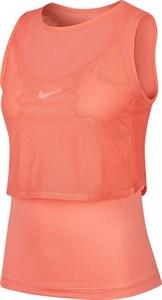 Майка женская Nike Court Elevated Dry Sunblush/White  CI9320-655  fa20