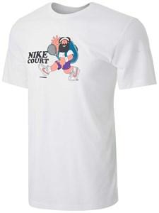 Футболка мужская Nike Court Slam White  DC5376-100  sp21