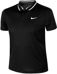 Поло мужское Nike Court Dry Victory Black/White  CW6848-010  sp21