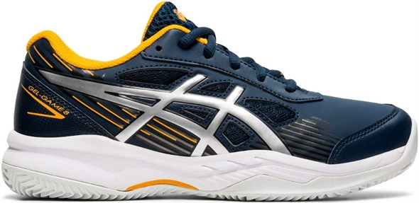 Кроссовки детские Asics Gel-Game 8 Clay/OC GS French Blue/Pure Silver  1044A024-400  sp21