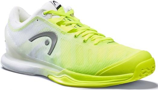 Кроссовки мужские Head Sprint Pro 3.0  Neon Yellow/White 273020
