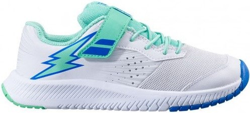 Кроссовки детские Babolat Pulsion All Court Kid White/Biscay Green  32S21518-1059