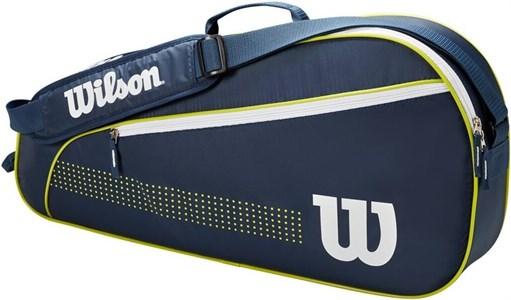 Сумка детская Wilson Junior X3 Navy/White/Lime  WR8012801001