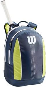 Рюкзак детский Wilson Junior Navy/Lime Green/White  WR8012902001