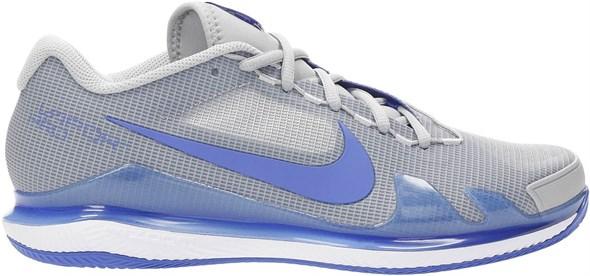 Кроссовки мужские Nike Zoom Vapor Pro Clay Light Smoke Grey/Hyper Royal/White  CZ0219-024  sp21
