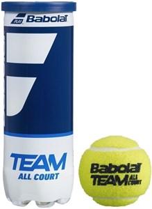 Мячи теннисные Babolat Team All Court 3 Balls  501083