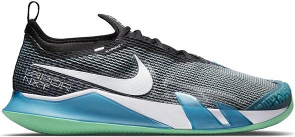 Кроссовки мужские Nike React Vapor NXT Clay Dark Teal Green/Black/Green/White  CV0726-324  su21