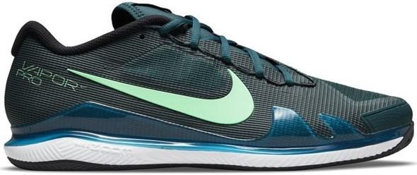 Кроссовки мужские Nike Zoom Vapor Pro Clay Dark Teal Green/Green/White/Black  CZ0219-324  su21