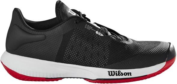 Кроссовки мужские Wilson Kaos Swift Clay Black/Pearl Blue/Wilson Red  WRS327760  sp21
