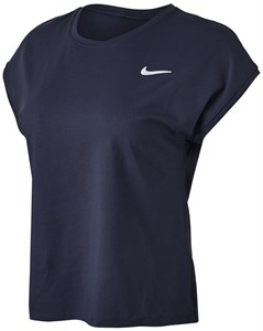 Футболка женская Nike Court Victory Obsidian/White  CV4790-451  sp21