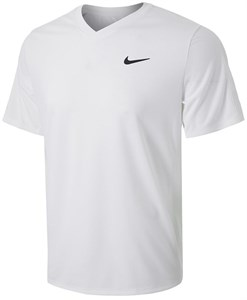 Футболка мужская Nike Court Victory White/Black  CV2982-100  sp21