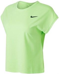Футболка женская Nike Court Victory Lime Glow/Black  CV4790-345  sp21