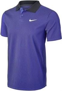 Поло мужское Nike Court Advantage Dark Purple Dust/Black/White  CV2863-510  su21