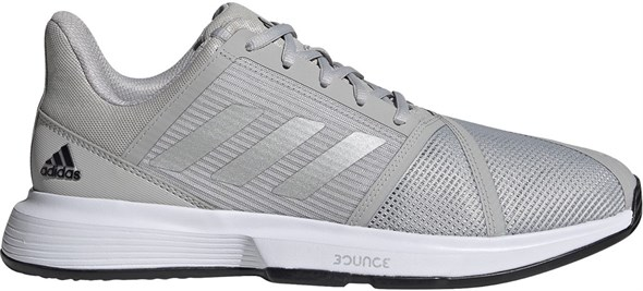 Кроссовки мужские Adidas Courtjam Bounce Grey Two/Silver Metallic/Core Black  H68894  fa21