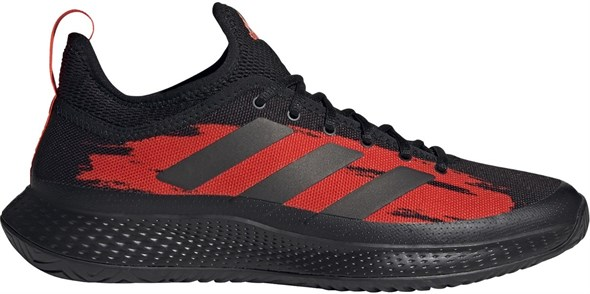 Кроссовки мужские Adidas Defiant Generation Core Black/Solar Red  H69200  fa21