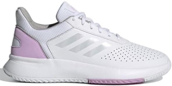 Кроссовки женские Adidas Courtsmash Cloud White/Iridescent/Clear Lilac  FY8732  fa21