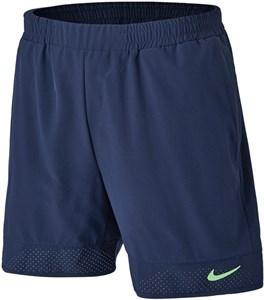 Шорты мужские Nike Advantage Rafa 7 Inch Obsidian/Lime Glow  CV7873-451  su21